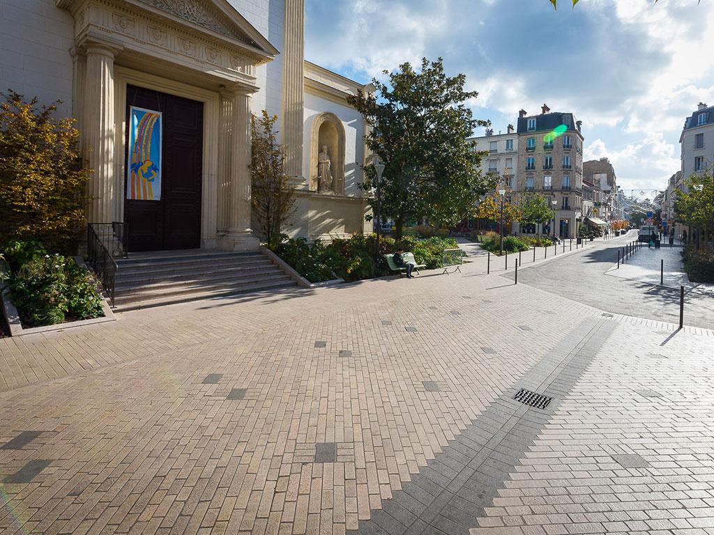 Aménagement du Centre ville de Vincennes