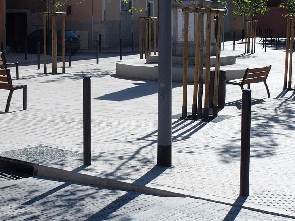 Espace urbain et pierre naturelle de Comblanchien