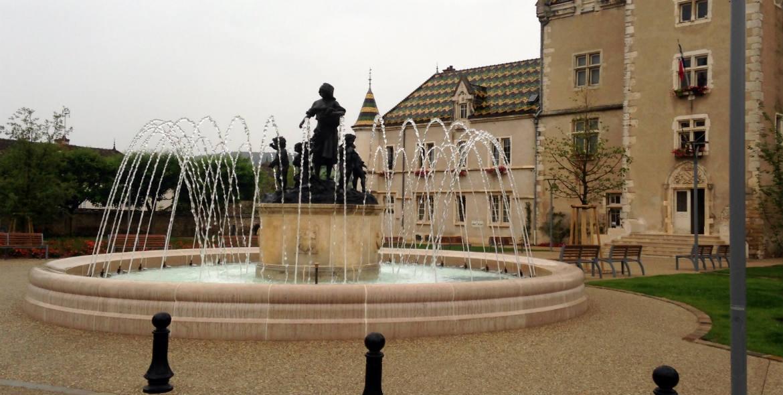 Fontaine de Village à Meursault (21)