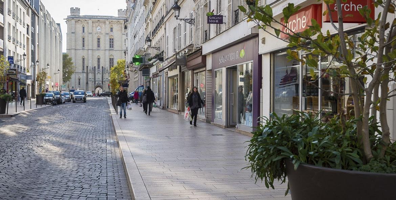Bordures et trottoirs du centre Ville de Vincennes (94)