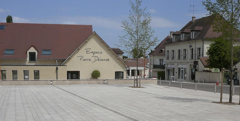 Aménagement du centre ville de Fourqueux (78)