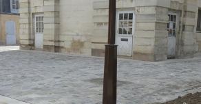 Caniveaux en pierre de Semond à Versailles (78)