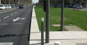 Bordures en Comblanchien du Tramway T4 de Lyon